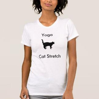 Camiseta del estiramiento del gato de la yoga