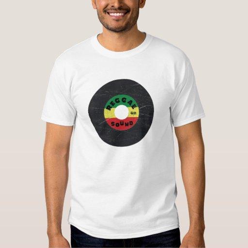 camiseta del expediente del reggae 7-Inch Remera