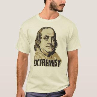 Camiseta del extremista de Franklin