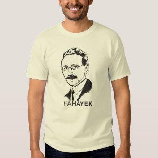 Camiseta del FA Hayek Remeras