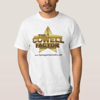 Camiseta del factor de Cowell de los juegos de la Remeras