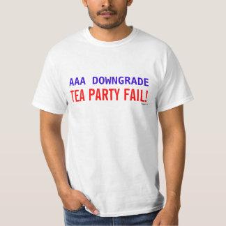 Camiseta del fall de la fiesta del té del remera