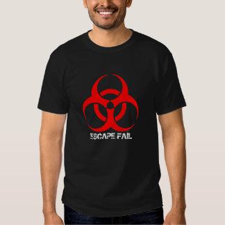 Camiseta del fall del escape - modificada para remeras