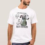 Camiseta del FAQ del galgo italiano