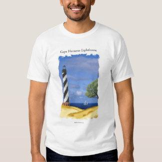 Camiseta del faro de Hatteras del cabo Playera