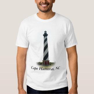 Camiseta del faro de Hatteras Poleras