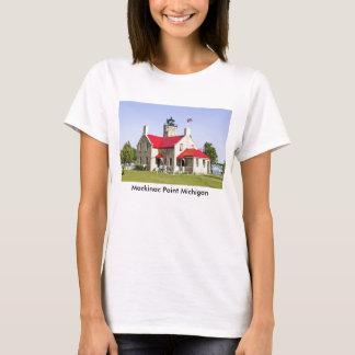 Camiseta del faro del punto de Mackinac