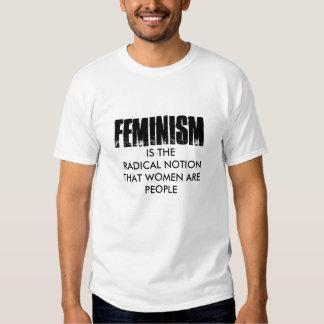 Camiseta del feminismo remeras