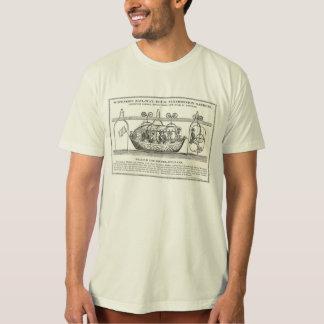 Camiseta del ferrocarril de la suspensión del Vict Playera