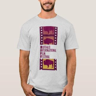 Camiseta del festival de cine del búfalo para los