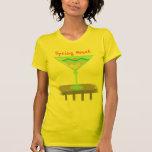 Camiseta del fiesta de la playa