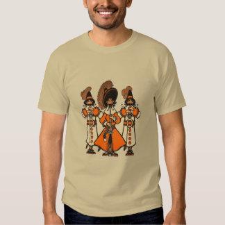 Camiseta del fiesta de los músicos de los bardos remeras