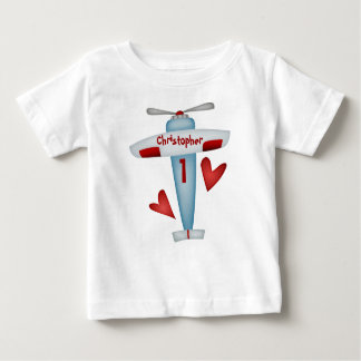 Camiseta del fiesta del aeroplano