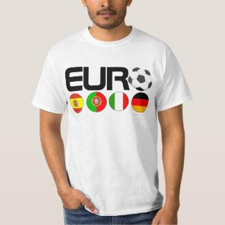 Camiseta del final cuatro de Europa del fútbol Camisas