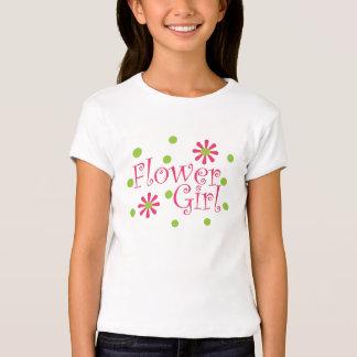 Camiseta del florista poleras