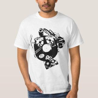 """camiseta del """"formato enojado 4y-Records"""" Playeras"""