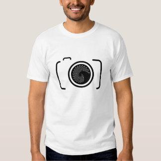 Camiseta del fotógrafo playeras