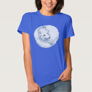 Camiseta del Fox ártico Playera