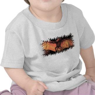 Camiseta del Fox de vuelo de Van Gogh