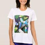 Camiseta del funcionamiento de las señoras de Budg Playeras