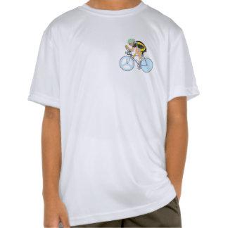 Camiseta del funcionamiento del Deporte-Tek del