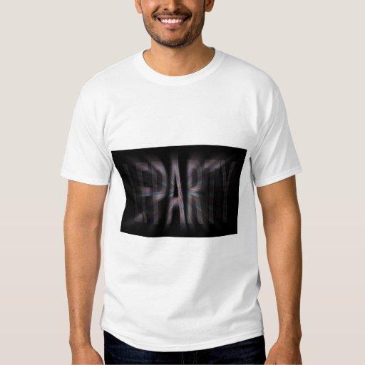 Camiseta del funcionario de LFparty Remera