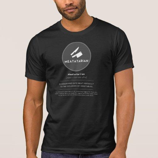 Camiseta del funcionario de Meatatarian Remeras
