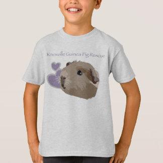 Camiseta del funcionario del rescate del conejillo remeras