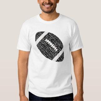Camiseta del fútbol americano remera