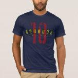 Camiseta del fútbol de Ecuador