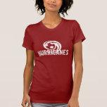 Camiseta del fútbol de los huracanes