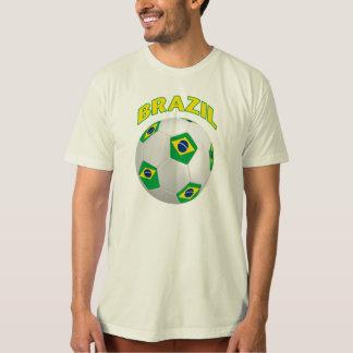 Camiseta del fútbol del Brasil