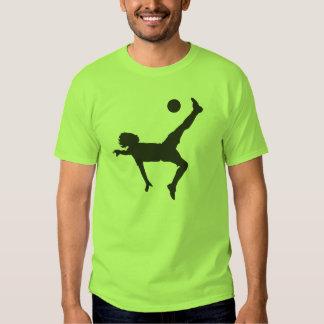 Camiseta del fútbol playera