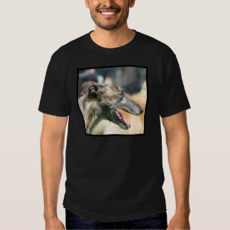 Camiseta del galgo playeras