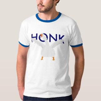 Camiseta del ganso del alerón remera