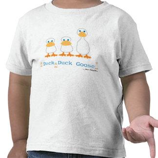 Camiseta del ganso del pato del pato