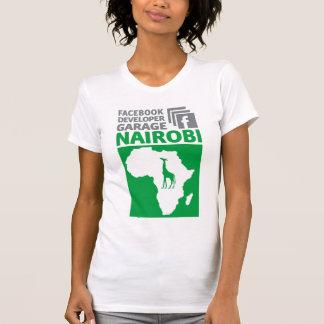 Camiseta del garaje del desarrollador de Nairobi