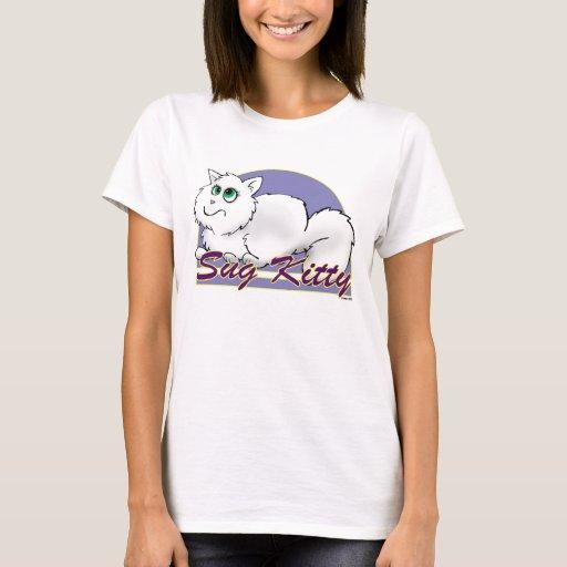 Camiseta del gatito de Sug de los tebeos de