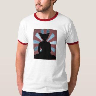 Camiseta del gato de Buda