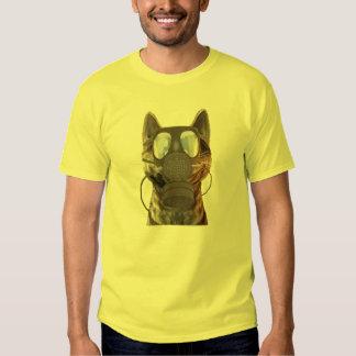 Camiseta del gato de Schroedinger Poleras