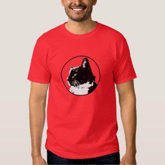 Camiseta del gato del smoking, hombres remera