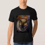 Camiseta del gato siamés poleras