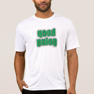 Camiseta del gimnasio - guarde la imagen de espejo