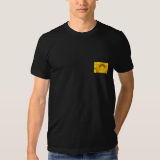 Camiseta del girasol camisas
