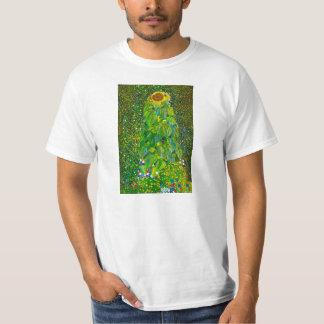 Camiseta del girasol de Gustavo Klimt Polera