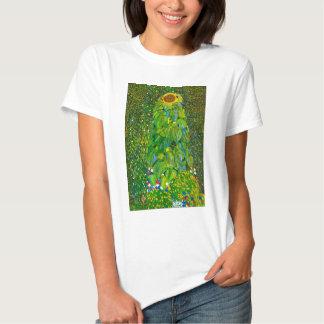 Camiseta del girasol de Gustavo Klimt Poleras