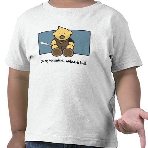 Camiseta del gladiador del Sweetie de L'il