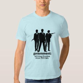 Camiseta del gobierno poleras