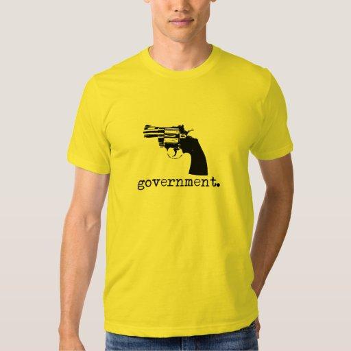 Camiseta del gobierno remeras