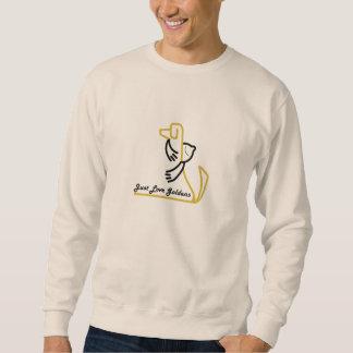 Camiseta del golden retriever, apenas amor Goldens Sudadera